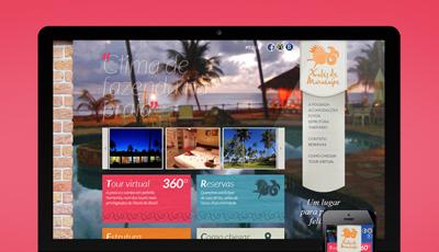 Site Xalés de Maracaípe Pousada Xalés de Maracaípe