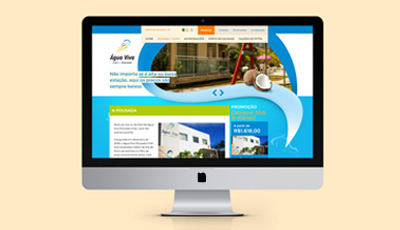 Site Institucional da Água Viva Pousada e Flat da Água Viva Pousada e Flat