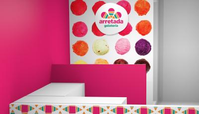 Impressos Arretada Gelateria  - Arretada Gelateria