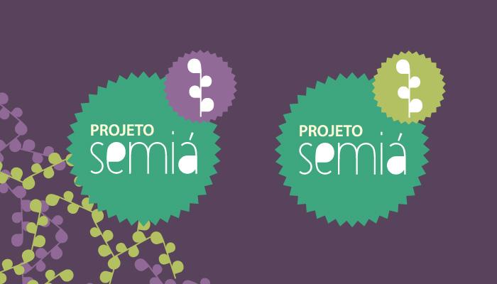Versões de logotipo do Projeto Semiá