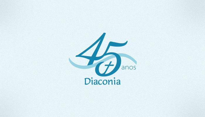Marca 45 anos Diaconia