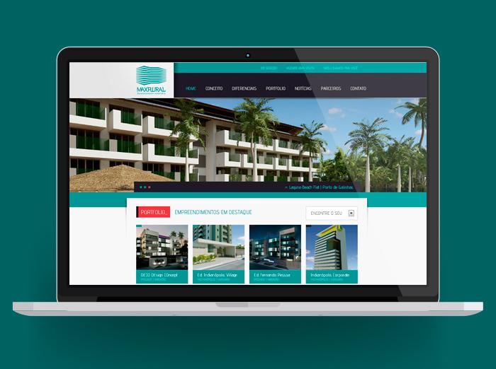 Site Maxplural | Desenvolvimento Imobiliário
