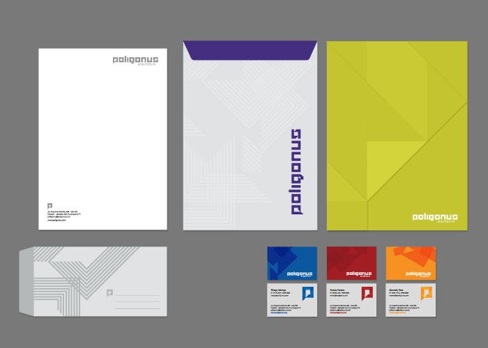 Papelaria institucional | Poligonus Arquitetura