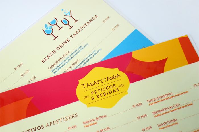 Cardápio de Petiscos e Bebidas | Pousada Tabapitanga | Porto de Galinhas