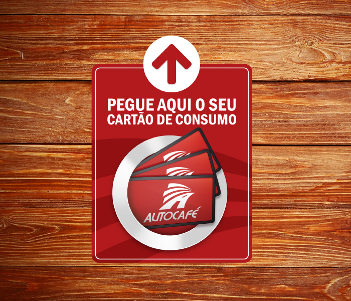 Aviso Cartão de Consumo | Autocafé Maragogi
