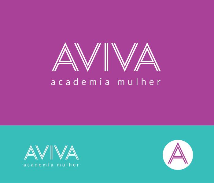 Marca e Naming - Aviva | Academia Mulher