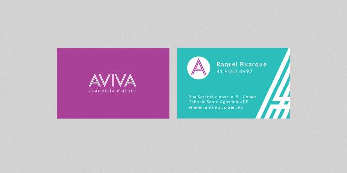 Cartão de Visita | Aviva Academia