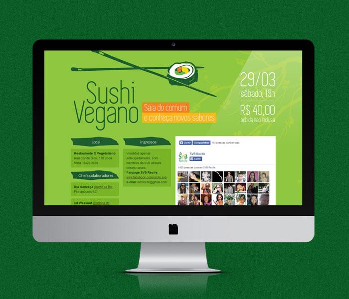 Hotsite Sushi Vegano | SVB