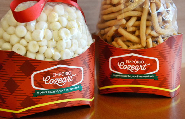 Design de embalagens para biscoitos | Empório Cozeart